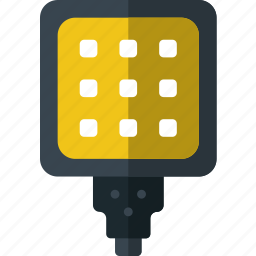 flash, photography, record, video icon