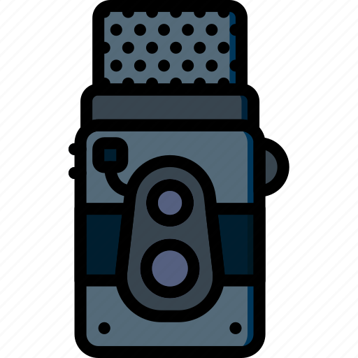 camera, photography, record, video, vintage icon