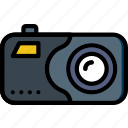camera, digital, photography, record, video icon