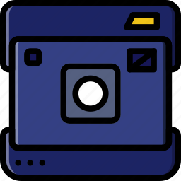 camera, photography, polaroid, record, video icon