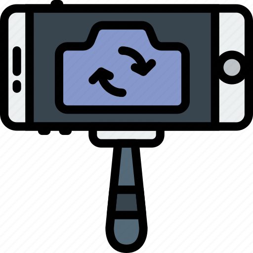 photography, record, selfie, stick, video icon