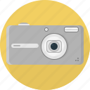 camera, digital, flash icon