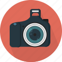 camera, digital, dslr, flash icon