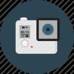 camera, go, pro, small icon