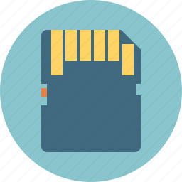 card, memory, sd-card icon