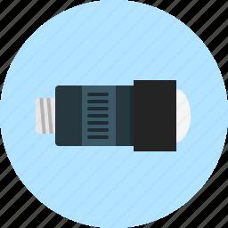 camera-lens, lens, objective icon
