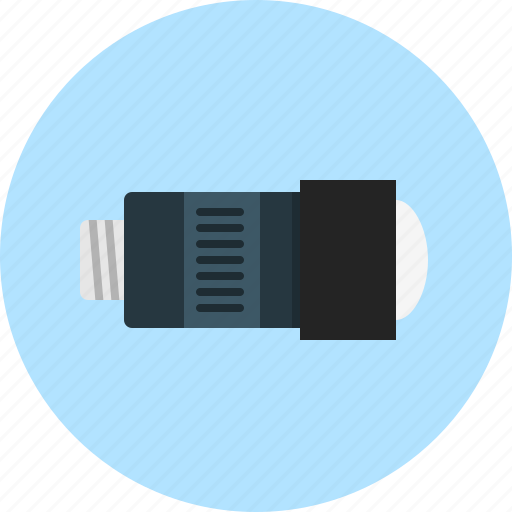 camera-lens, lens, objective icon