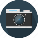 camera, lens, old, retro icon