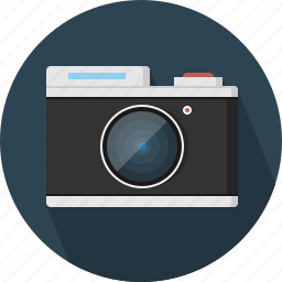 camera, lens, old, retro icon