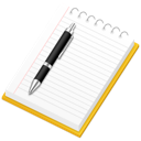 notepad, notes, paper, papernotepad icon