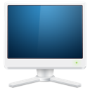 computer, fax, monitor, screen icon