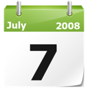 calendar, current date, date, full calendar, month, year icon