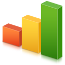 analytics, bars, chart, graph, statistics, stats icon