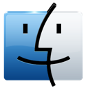 apple, finder, folder, logo, mac icon