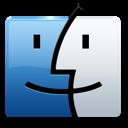 apple, mac, finder, logo, folder