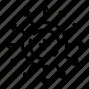 direction, physics, atom, atomic, white, motion, electron icon