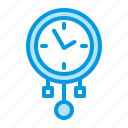 clock, grandfather, pendulum