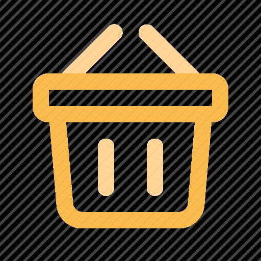Barbeque, basket, bbq, outdoor, picnic, picnic basket, summer icon - Download on Iconfinder