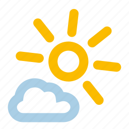 mainly, summer, sun, sunny, warm, weather icon