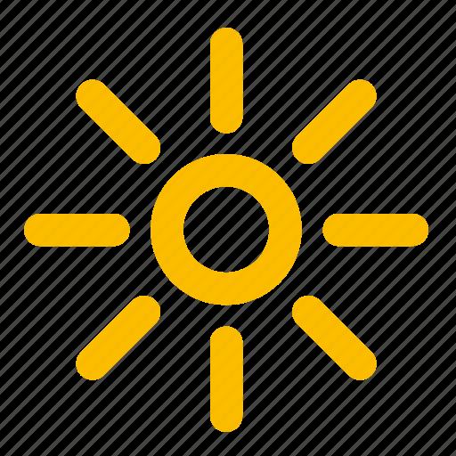 summer, sun, sunny, warm, weather icon