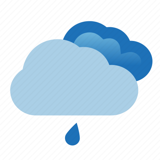 cloud, clouds, heavy, rain, weather icon