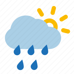 heavy, shower, showers, weather icon