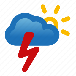 chance, change, lightning, storm, thunderstorm, weather icon