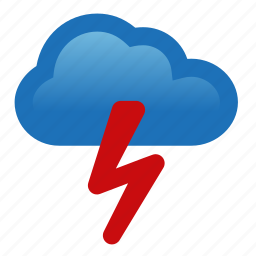 lightning, storm, thunderstorm, weather icon