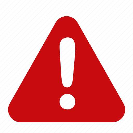 Alert, warning icon | Icon search engine
