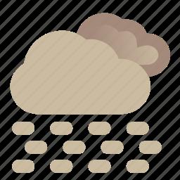desert, storm, thunderstorm, weather icon
