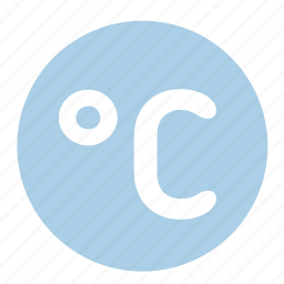 celsius, cold, temperature, thermometer, weather icon