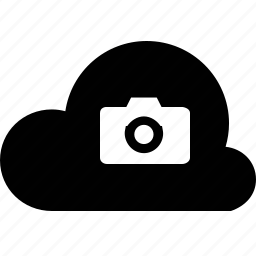 camera, cloud icon