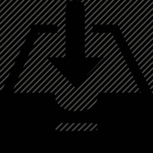 inbox, tray icon