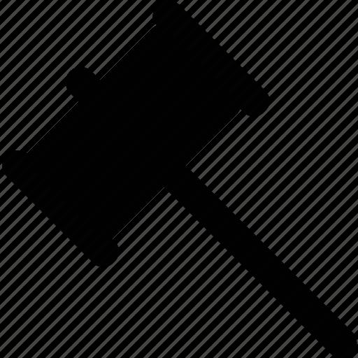 hammer, mallet icon