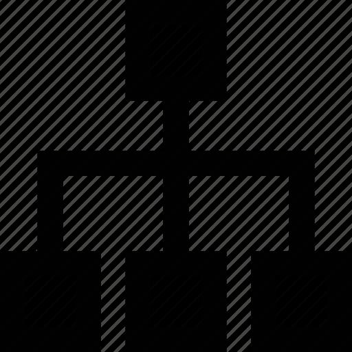 network, tree icon