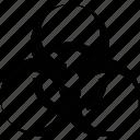 biohazard, toxic icon