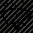 windshield, wiper icon