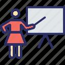 assistant professor, instructor, lecturer, teacher, professor icon