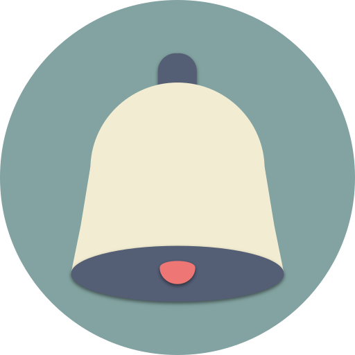 Bell, music, ring, sound, audio, musical, alarm icon - Free download