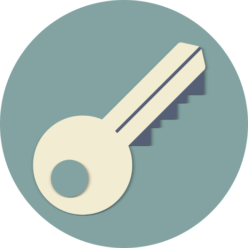 Door, security, open, key, protect, protection, unlock icon