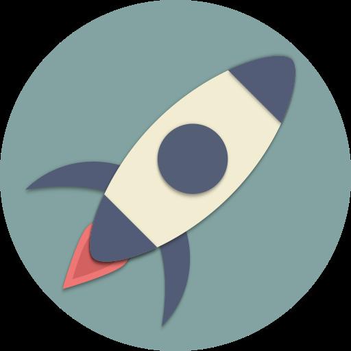 astronaut, astronomy, rocket, space, spaceship, start, universe icon