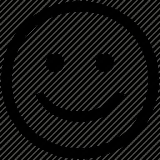 Emoticon, face, happyface, smile icon - Download on Iconfinder