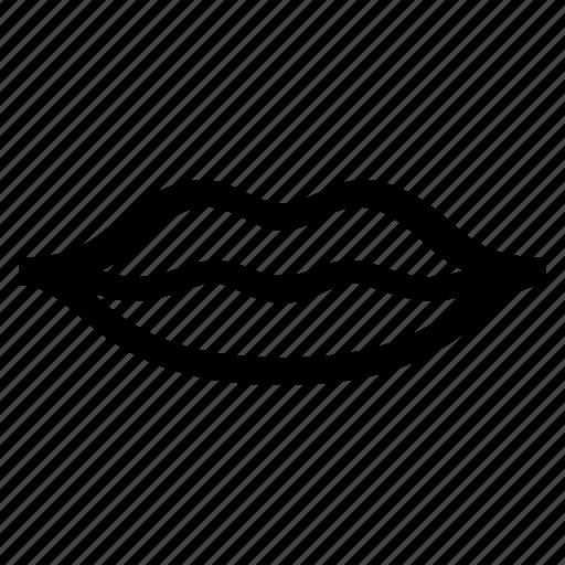 lips, mouth icon