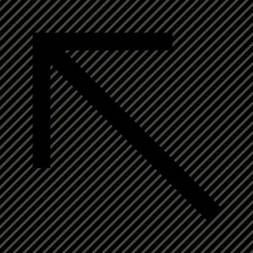 Arrow, northwest icon - Download on Iconfinder on Iconfinder
