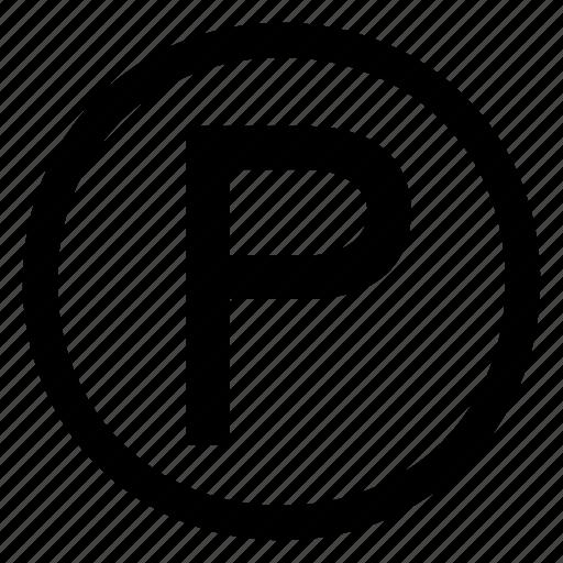 Parking icon - Download on Iconfinder on Iconfinder