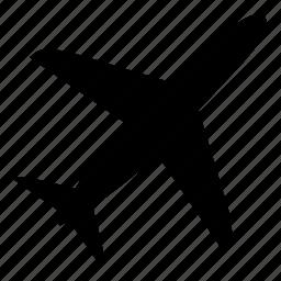 airport, plane icon