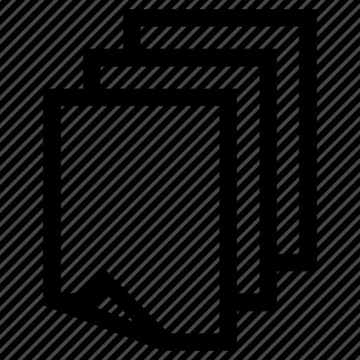 files, sheets icon