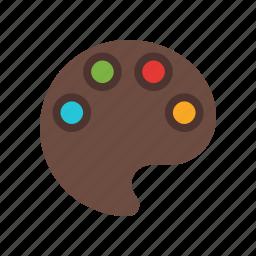color pallete, colorful, colors, edit colors, paint, pallete icon
