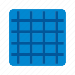 grid, grid lines, grid view, grid view on, photography icon