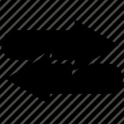 arrow, arrows, direction, right icon